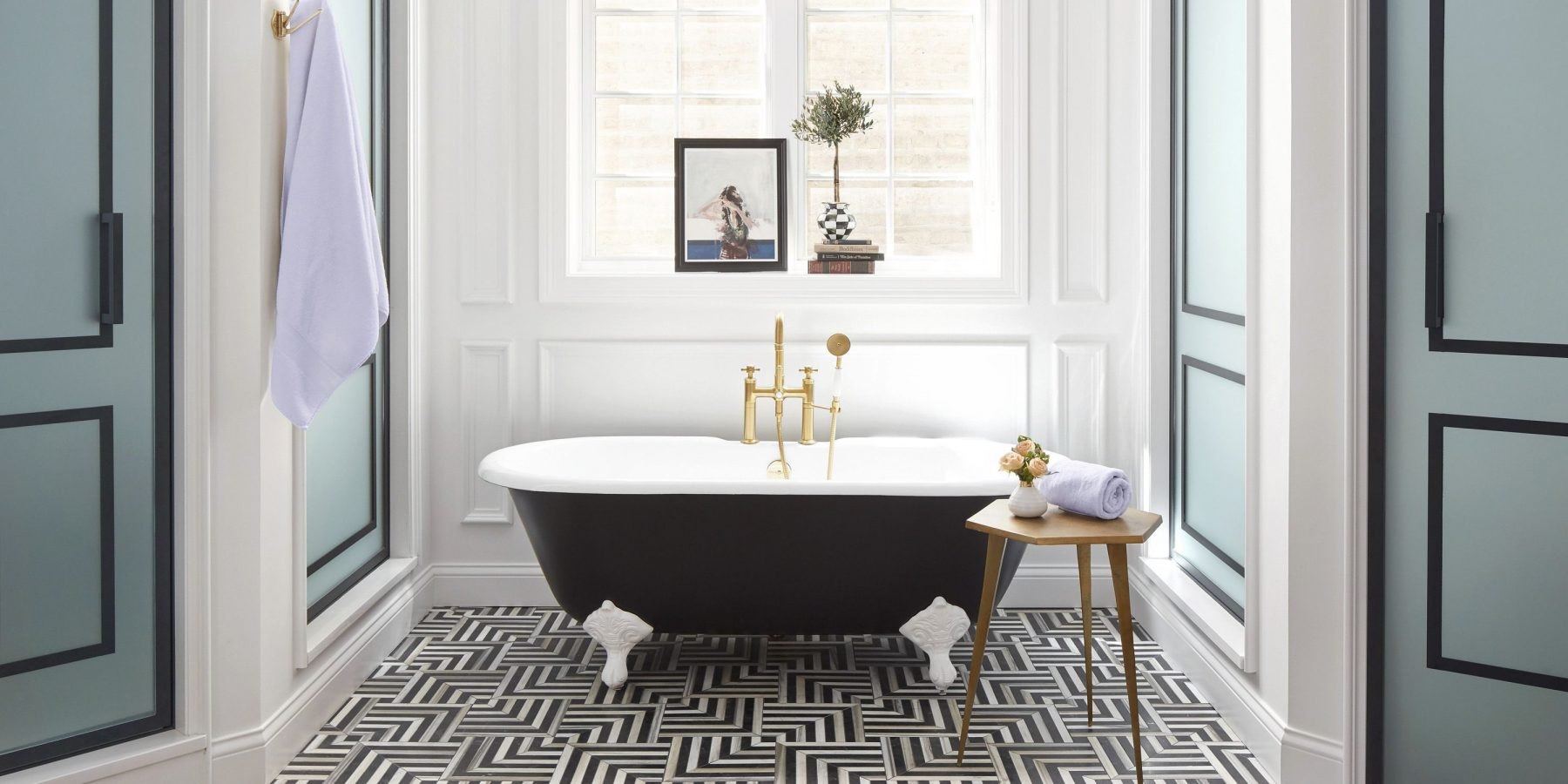 salle de bain les 10 tendances cl de 2019 la journaliste. Black Bedroom Furniture Sets. Home Design Ideas