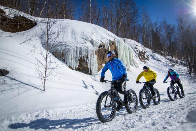 Quebec, Mont Tremblant - Fatbiking - ©mont-tremblant.ca