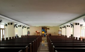 1951 Gines Rivera - Immaculate Conception Chapel, Gonzaga Hall