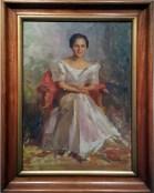 1955 Fernando Amorsolo - Madam Nena Gabaldon