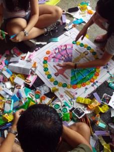 2011 September - ARt-H Mandalas, at the Palma Hall Lobby