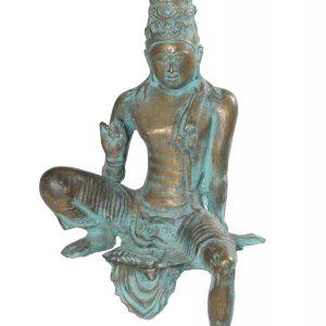 "Avalokiteshvara Replica - Brass  - 21"""