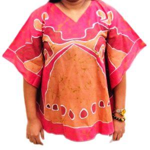 Batik Cotton Poncho