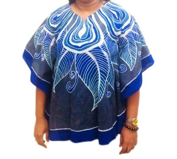 Batik Cotton Poncho 15