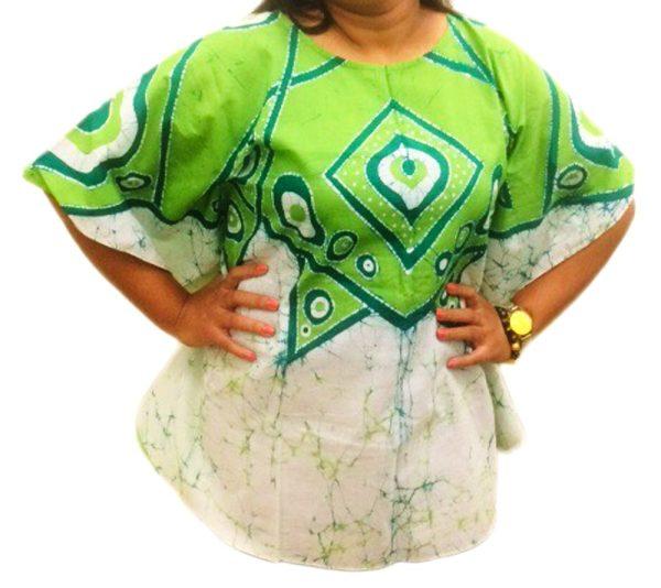 Batik Cotton Poncho 18