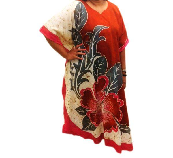 Batik Cotton Kaftan 20