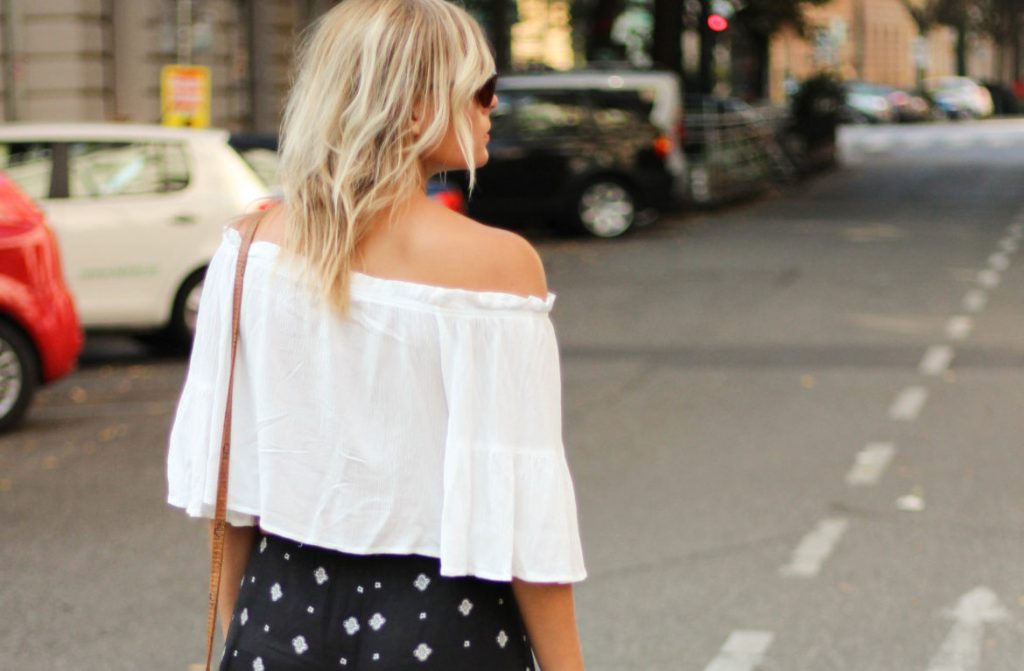 Outfit Palazzo Hose