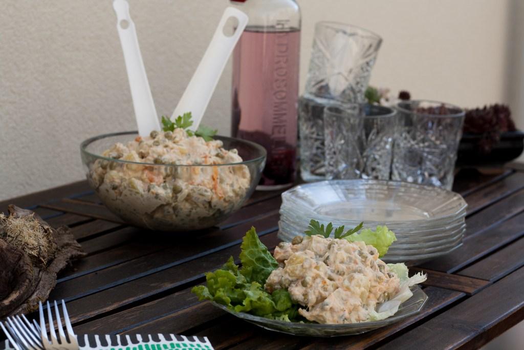 Grillsalat, Rezept, Grillen, Beilage, Food, Rezept, Foodblogger