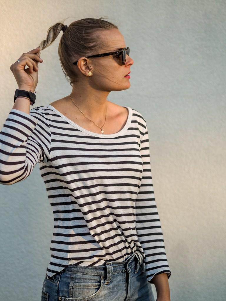 Boyfriend Jeans, Casual Sunday, Streetlook, Birkenstock, Stripes