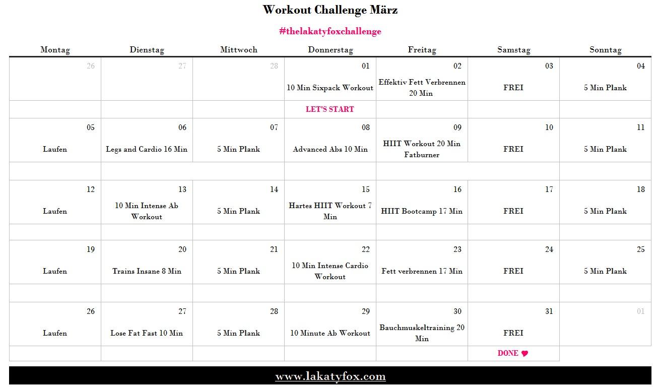 Workoutplan, lakatyfox, challenge, fitness