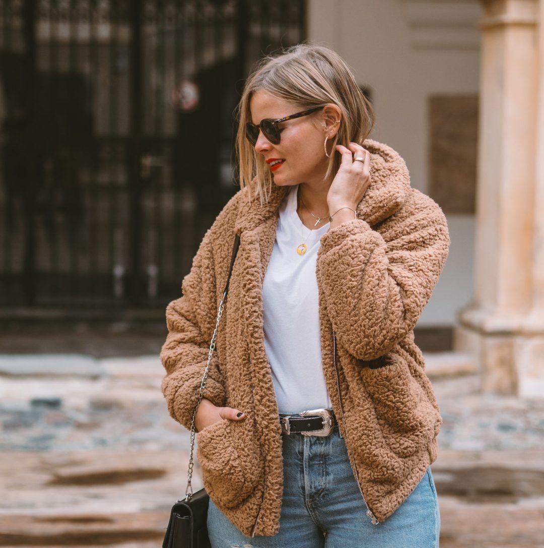 Outfit | Super kuschelig in den Herbst – der Teddy Style