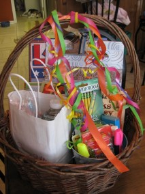 Ms. Foster's basket