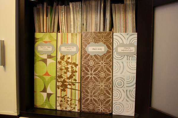 Close-up of Patterned Paper