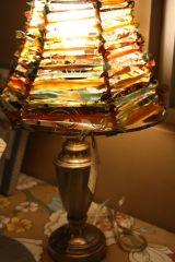 fabric scrap lampszd