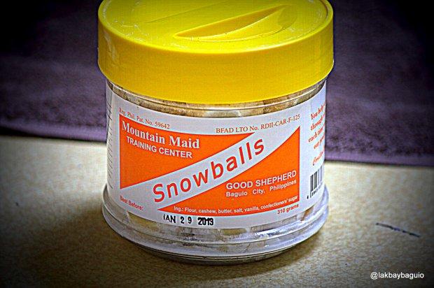 Snowballs container