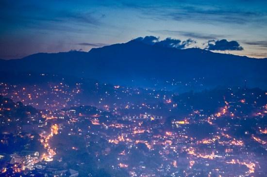 Baguio City at Night