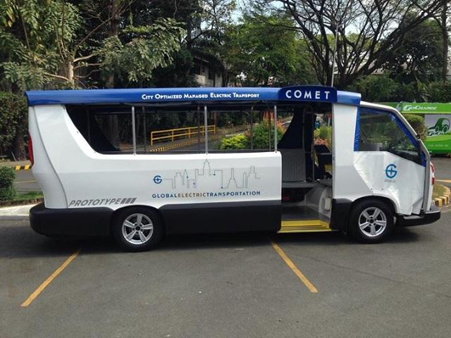 The COMET E-Jeepney