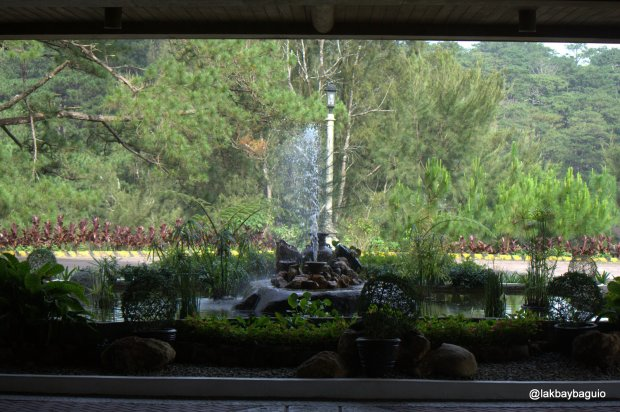 Fountain at the Forest Lodge