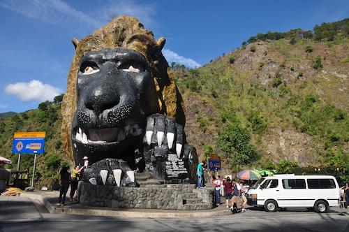 Lion Head in Baguio City