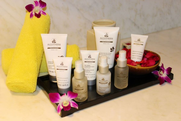 Algotherm Product at Flow Spa Manila