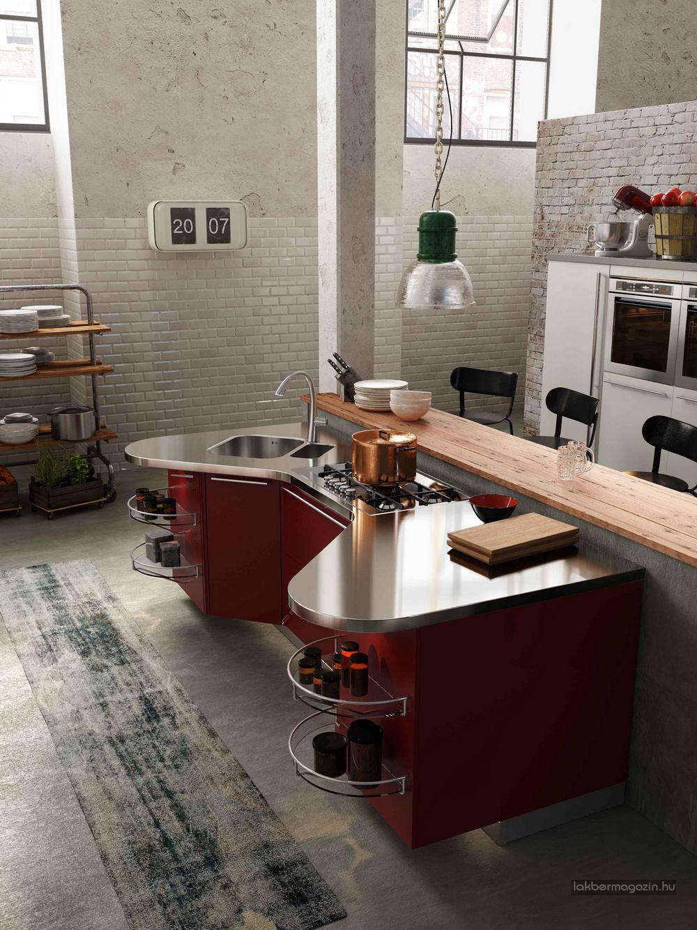 Olasz konyhabtor  modern konyha tletek a SNAIDERO
