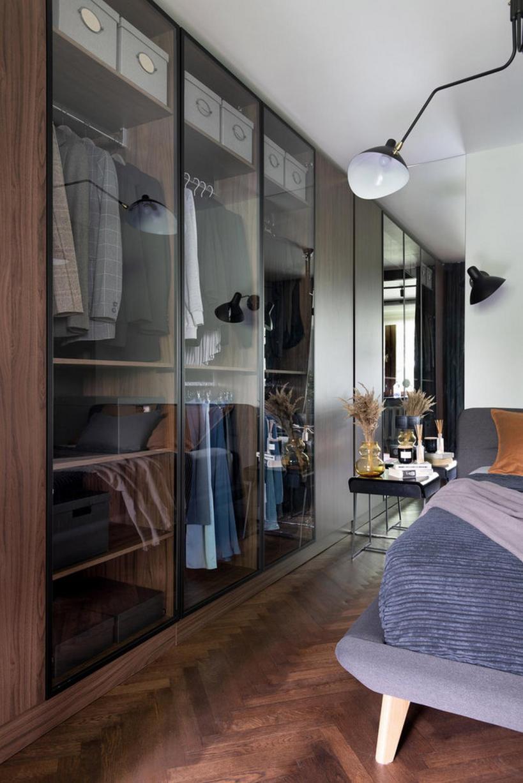 Дом молодой девушки площадью 30 м2 с удобной, практичной мебелью и сдержанным декором.