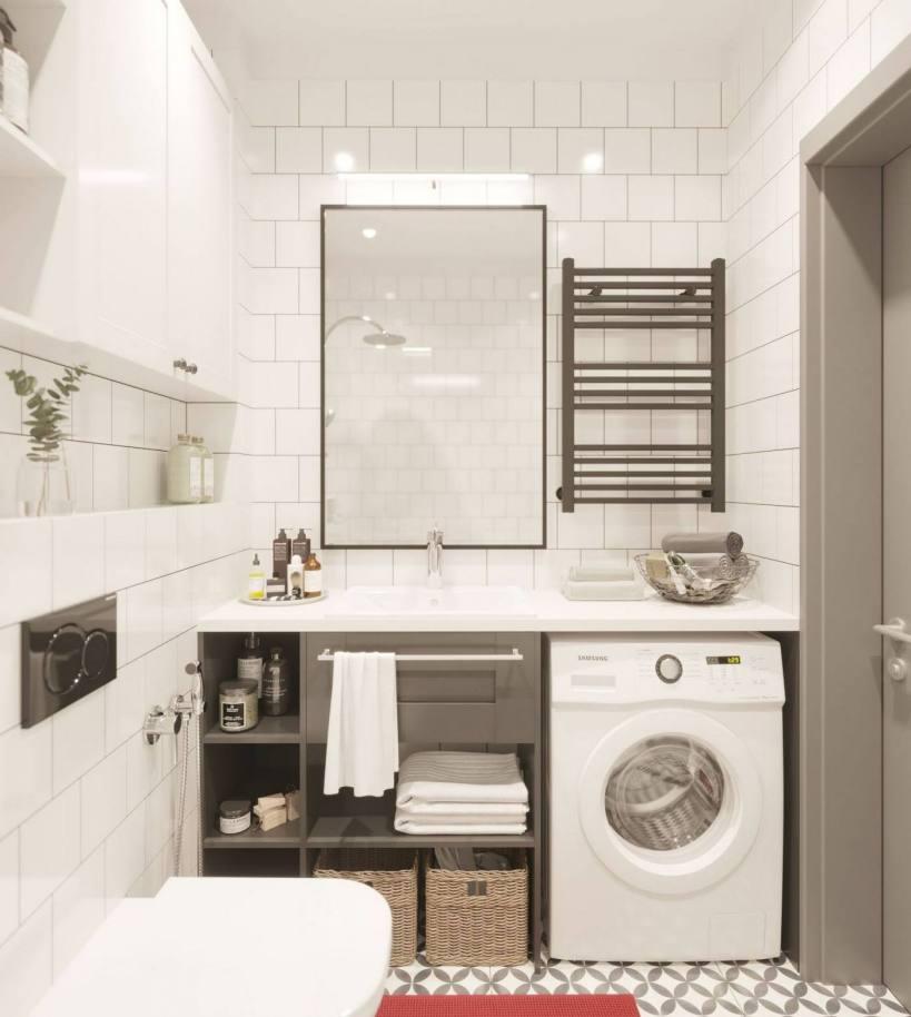 Как оформить квартиру 42м2 нейтральной цветовой гаммой и простыми решениями