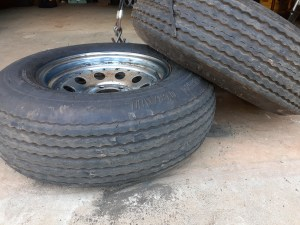 five year old tires