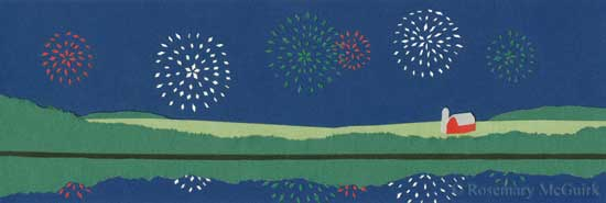 4th of July by Rosemary McGuirk