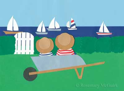 Day by the Waterside by Rosemary McGuirk