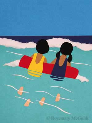 Girls on a Raft by Rosemary McGuirk
