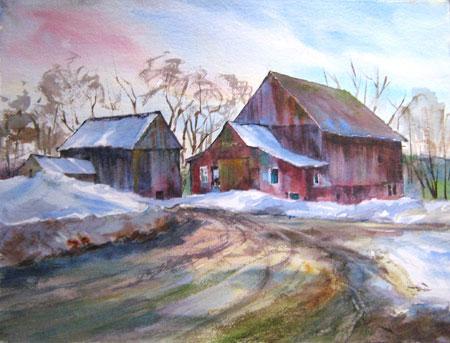 Jericho Barns by Bea Jillette