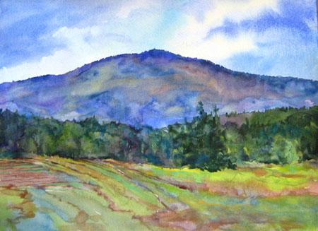 Mount Sunapee Closeup by Bea Jillette