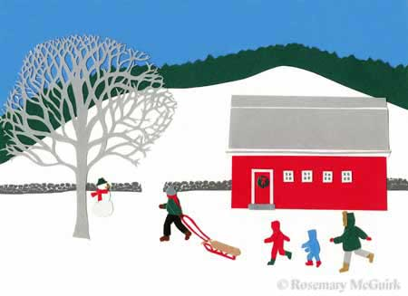 The Ski HIll by Rosemary McGuirk