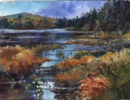 Wetland Magic by Bea Jillette