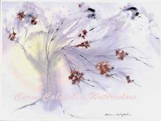 Winter Blossoms by Caren Calafati