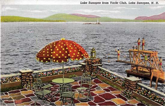 LSYC Post Card 1947
