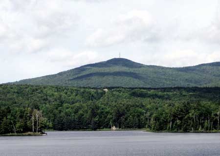 Mt Sunapee from Gunnison