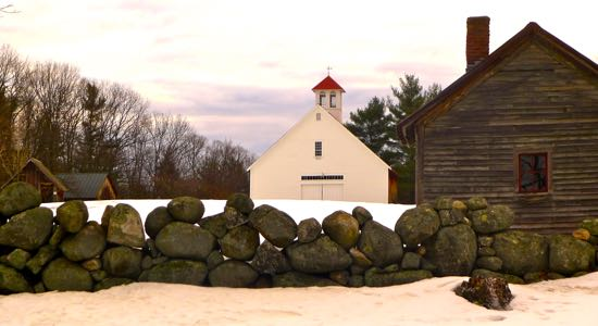 Muster Field Winter Photograph