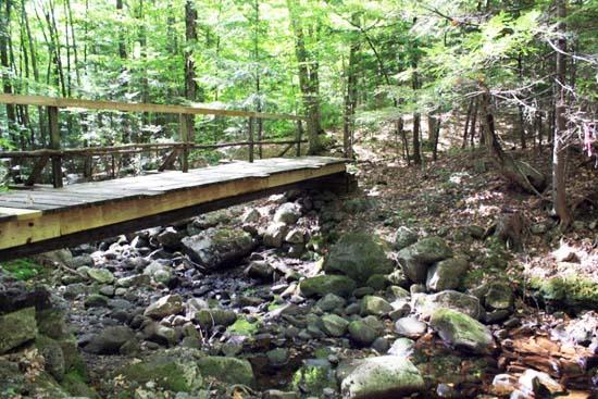 Footbridge across Great Brook