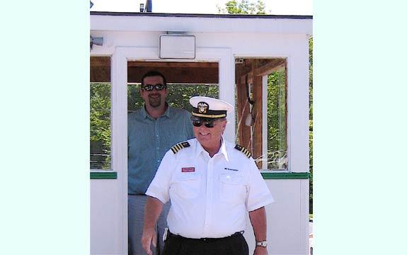 Captain Dave Aboard the Mt. Sunapee Sunapee Harbor Slideshow