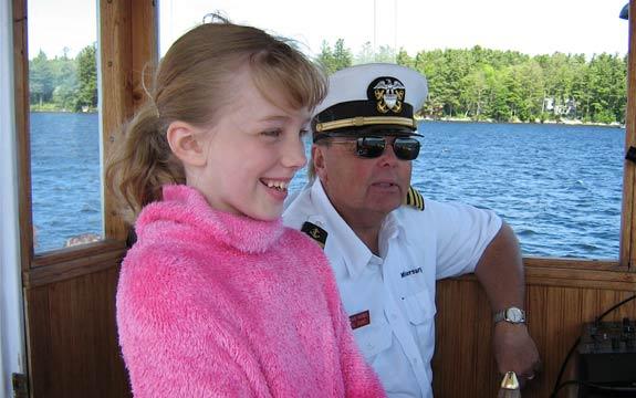 Captain Dave & Co-Pilot Sunapee Harbor Slideshow