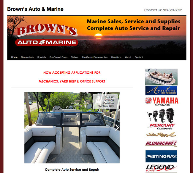 BrownsAutoandMarine.com