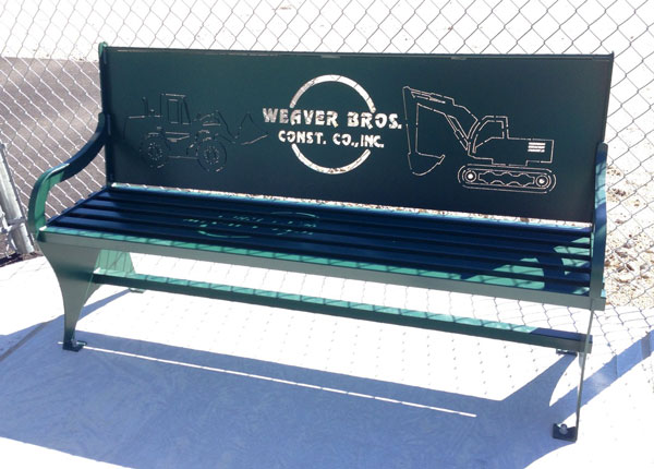 Custom Designed Bench