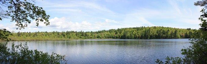 Clark Pond Panorama