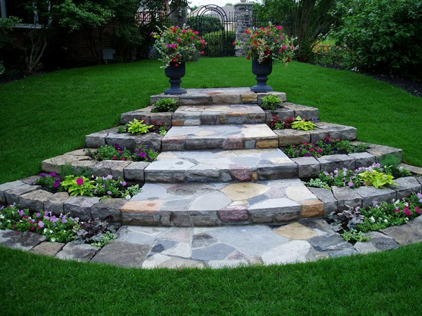 Garden Path Designs And Ideas For Yard Landscaping With Stone