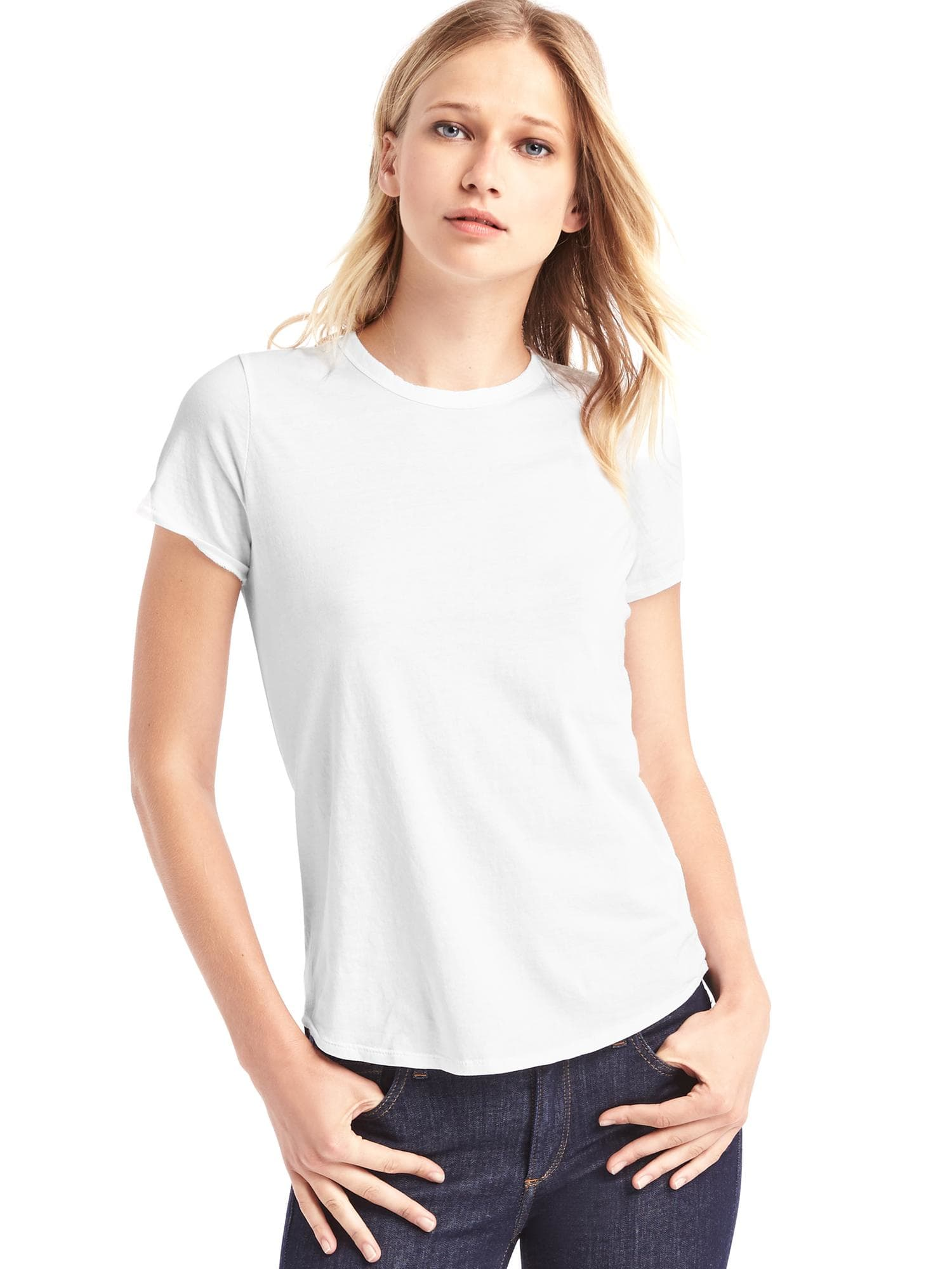 White t-shirt from the GAP