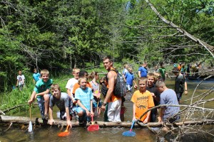 The river walk is one of highlights for all Jump Start campers!