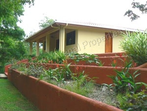 Home Bordering River on One Acre Property