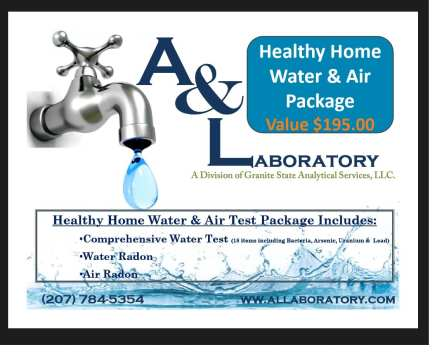 A&L Labs Donates Two Comprehensive Water Test Kits For LACC Silent Auction at Gritty's on 9/22!